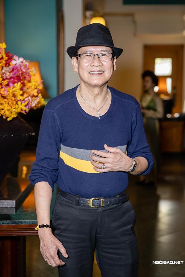 Tuấn Vũ tại buổi họp báo sáng 21/11.