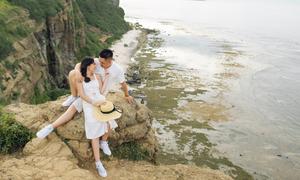 Cô dâu chia sẻ kinh nghiệm chụp ảnh cưới bắt trọn vẻ đẹp Lý Sơn
