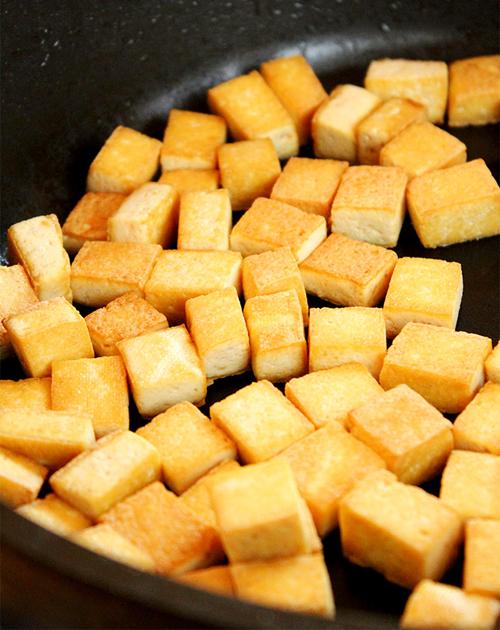 Chỉ cần một bước trước khi chế biến cũng giúp đậu rán vàng giòn