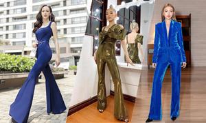 Sao Việt 'ăn gian' chiều cao nhờ quần ống loe