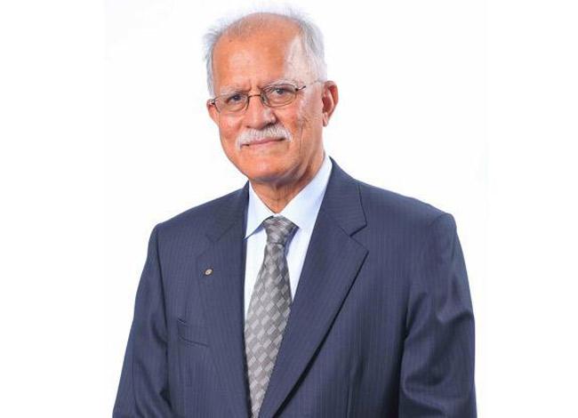Ông Mohan Vaswani đã bước sang tuổi 80 và vẫn đến văn phòng làm việc mỗi ngày. Ảnh: Livemint.
