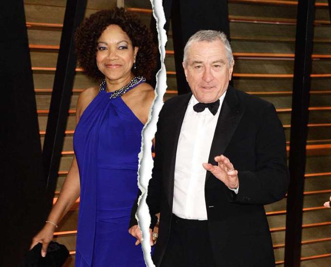 Tài tử 75 tuổi Robert De Niro ly hôn người vợ thứ hai