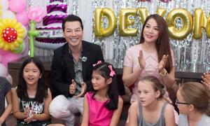 Trần Bảo Sơn và vợ cũ tổ chức sinh nhật 10 tuổi cho con gái