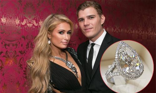 """""""Chồng hụt"""" muốn Paris Hilton trả nhẫn đính hôn 2 triệu USD"""