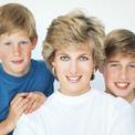 Tính cách giống nhau giữa William, Harry và Diana