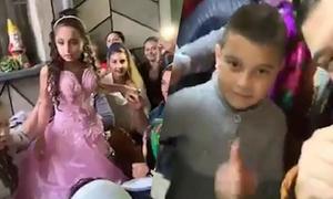 Hôn lễ của cô dâu 8 tuổi và chú rể 10 tuổi gây phẫn nộ ở Romania