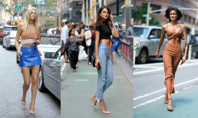 Street Styleđi casting Victorias Secret Fashion Show 2018. Ảnh: Pinterest.