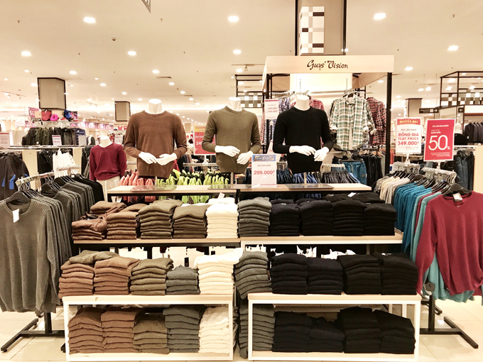 Aeon mang đến nhiều trải nghiệm mua sắm mới cho khách hàng.