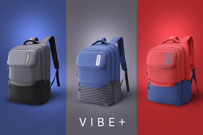 Dòng balo laptop Vibe+ là sự kết hợp màu sắc hài hòa với đỏ thể thao năng động, xanh dương phóng khoáng cơ bản và xám trầm tính. Vibe+ có ngăn chứa laptop đến 15 inch và các ngăn phụ đựng dụng cụ học tập tiện ích.