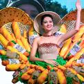 H'Hen Niê mang trang phục bánh mỳ tới Miss Universe