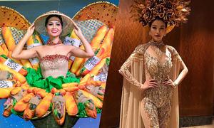 Áo dài 'thất sủng' tại các đấu trường sắc đẹp quốc tế