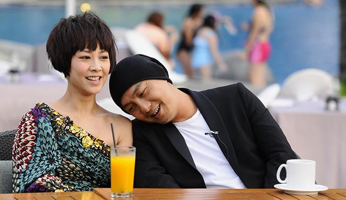 Hai vợ chồng Trương Vệ Kiện và Trương Tây.