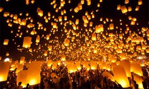 Chàng trai Việt chỉ cách tham dự lễ hội đèn trời đẹp nhất thế giới ở Chiangmai