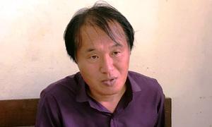 Du khách Hàn Quốc kề dao vào cổ tài xế taxi cướp tài sản