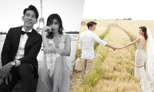 Giả Tịnh Văn cưới chồng trẻ sau 3 năm chung sống