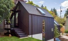 Cải tạo nhà để xe cũ thành không gian sống yên tĩnh cho người già