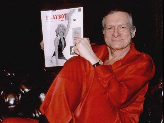 Hugh Hefner đã dựng lên đế chế Playboy từ năm 1953 với ấn bản đầu tiên in hình minh tinh Marilyn Monroe.