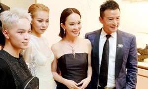 Phí Phương Anh gặp Phạm Văn Phương - Lý Minh Thuận ở Singapore