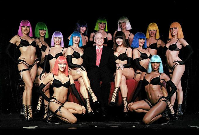 Hefner từng thú nhận ông đã ngủ với hàng nghìn phụ nữ.