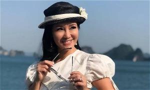 Ca sĩ Hồng Nhung tạm nghỉ hát vì kiệt sức