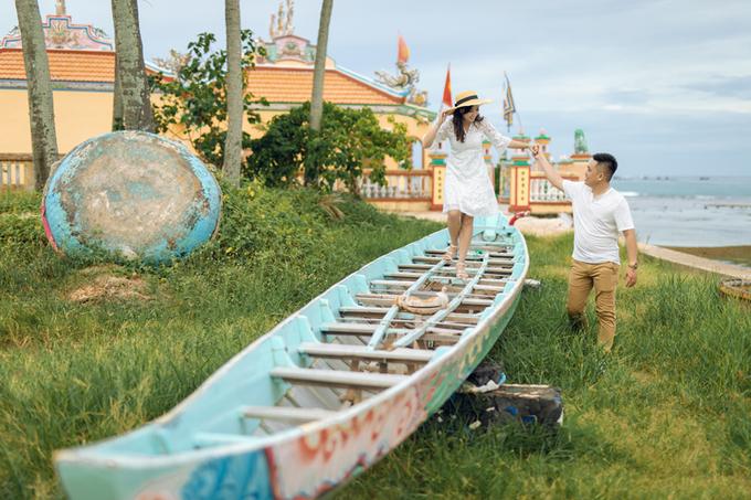 Uyên ương chụp ảnh cưới ở Lý Sơn với chi phí 40 triệu đồng