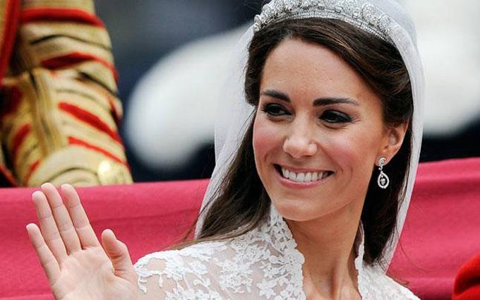 Kate xinh đẹp trong ngày cưới hoàng tử William vào ngày 29/4/2011. Ảnh: Reuters.