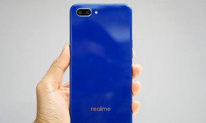 Smartphone Realme C1 giá 2,5 triệu đồng thêm bản màu xanh