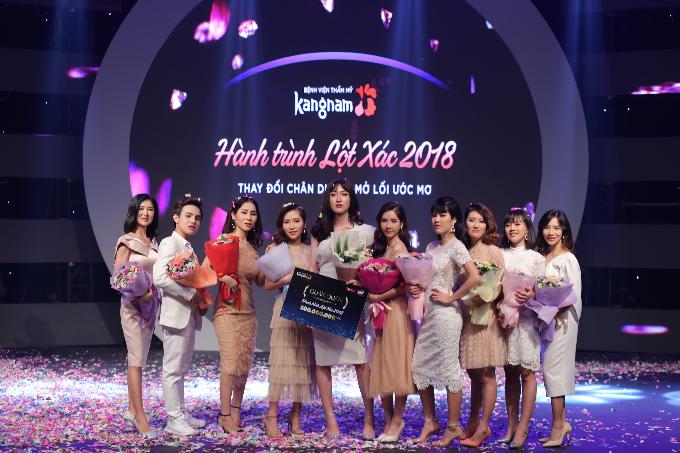 Top 10 thí sinh Hành trình lột xác năm 2018.