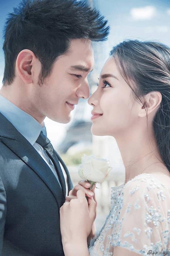 Vợ chồng Angelababy, Huỳnh Hiểu Minh.