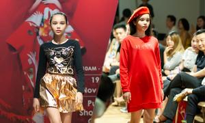Mẫu nhí lai catwalk ở Malaysia