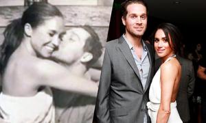 Meghan lộ ảnh ôm hôn bạn trai cũ một tháng trước khi hẹn hò Harry