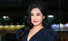 Hoa hậu Ngân Anh khẳng định mặt mũm mĩm do tăng cân