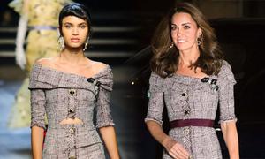 Kate thường xuyên sửa váy để hợp phong cách hoàng gia