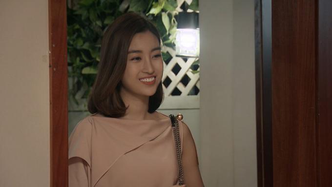 Hoa hậu Đỗ Mỹ Linh làm khách mờitrong phim Mẹ ơi, bố đâu rồi.