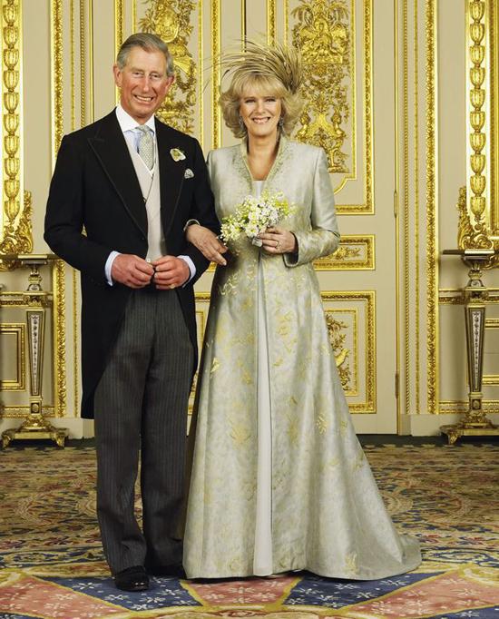 Thái tử Charles và bà Camilla - Nữ công tước xứ Cornwall - kết hôn vào năm 2005. Ảnh: UK Press.