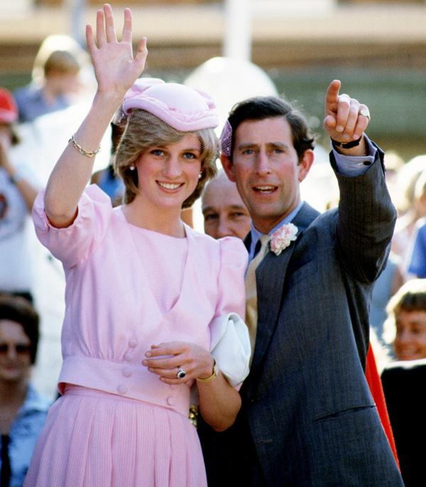 Thái tử Charles và Công nương Diana dự sự kiện sau đám cưới năm 1981. Ảnh: UK Press.