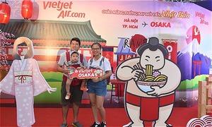 Cơ hội nhận vé máy bay khứ hồi Osaka tại sự kiện 'Vietjet Visit Japan'