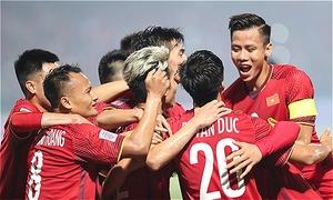 Tuyển Việt Nam trở lại top 100 FIFA