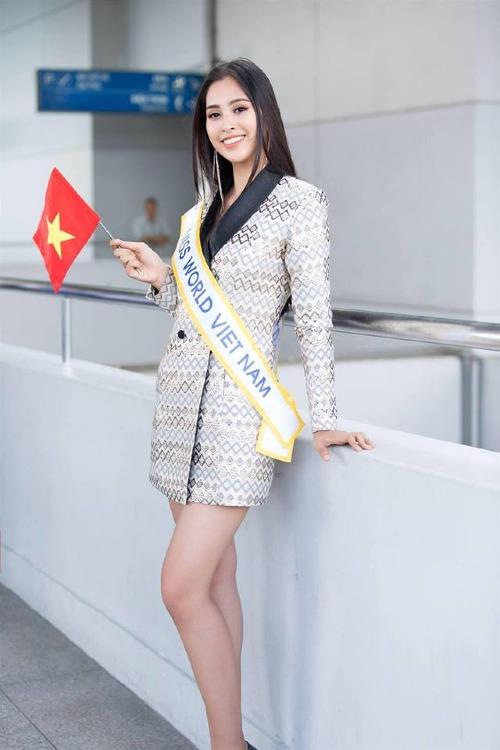 Tiểu Vy là đại diện của Việt Nam tham dự Miss World 2018.