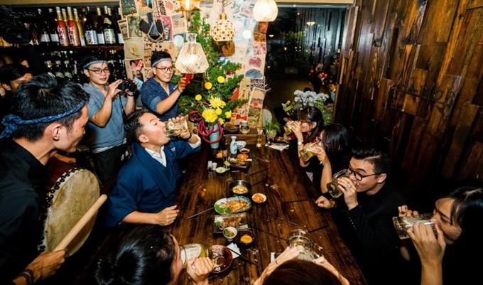 Địa chỉ cuối tuần: Nhậu kiểu Nhật ở Sài Gòn