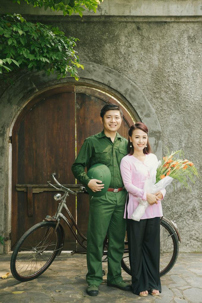 Bộ ảnh tái hiện 80 năm đám cưới Việt của uyên ương Sài Gòn