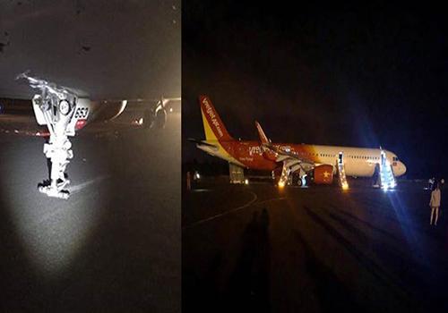 Cục Hàng không lập tổ điều tra máy bay Vietjet rơi bánh