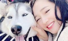 Ảnh hot 30/11: Nhã Phương chụp hình cùng chó cưng