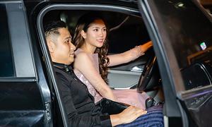 Diễn viên Minh Tiệp được vợ chở đi sự kiện