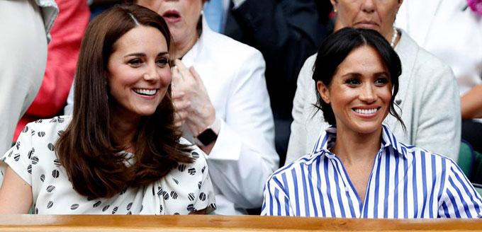 Kate chặn họng Meghan sau khi em dâu thô lỗ với nhân viên của mình - 1