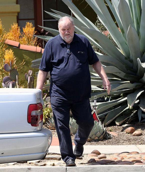 Ông Thomas Markle (74 tuổi), bố của Meghan Markle. Ảnh: Mega.