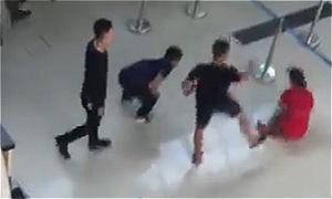 Nhóm trai đánh nhân viên hàng không Thanh Hoá