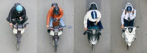 Biệt đội mo-bike phone (Hà Nội, tháng11/2018).