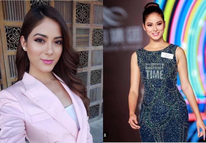 Nhan sắc Hoa hậu Nepal trong các hoạt động tại Miss World.