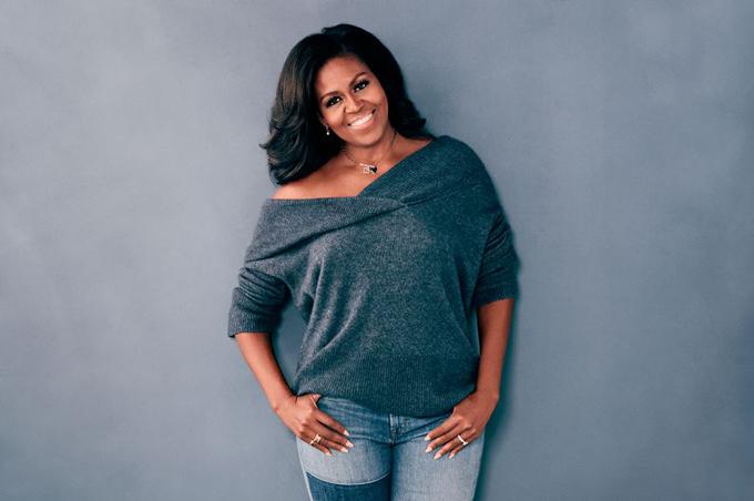 Bà Michelle Obama (54 tuổi), cựu đệ nhất phu nhân Mỹ. Ảnh: Good Housekeeping.
